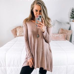 LAST ONE❌ Lavender Softest Tunic Top